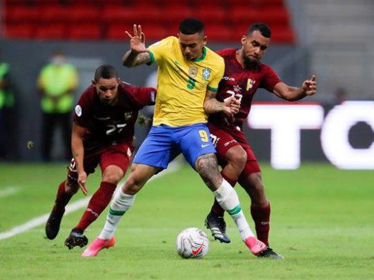 3-0. Brasil abre la Copa América 2021 con una fácil victoria sobre Venezuela