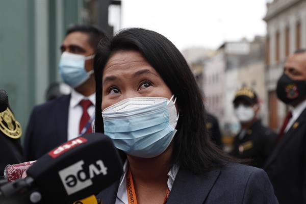 Fujimori pide a Sagasti que solicite una auditoría internacional de comicios