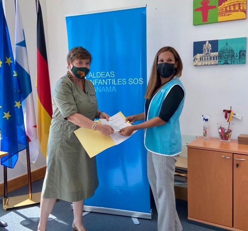 Firmaron acuerdo: embajada de Alemania y Aldeas Infantiles SOS