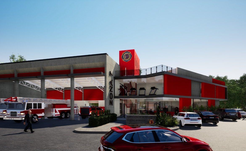 Inició construcción de estación de bomberos en Guararé