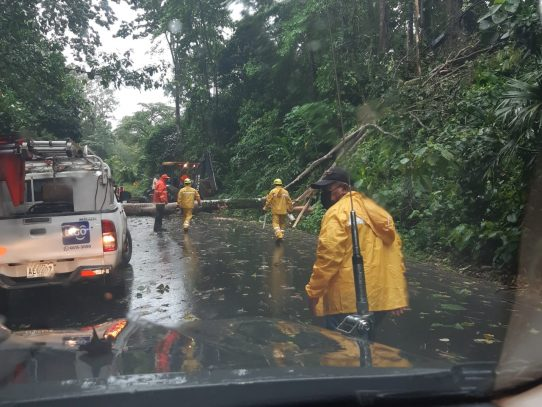 Alrededor de 126 contingencias causadas por las lluvias atendió el Sinaproc