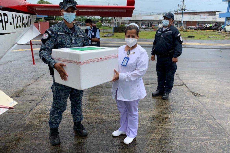 Bocas del Toro recibe nuevas dosis y realiza hisopados
