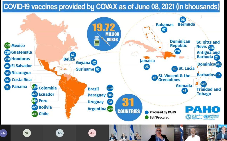 Parlamentos reafirman acceso justo a vacuna contra Covid-19 ante acaparamiento de países ricos