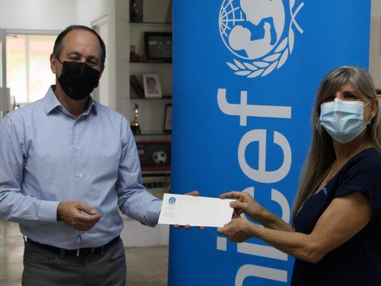 Fundación CWP entregó una donación Unicef Panamá