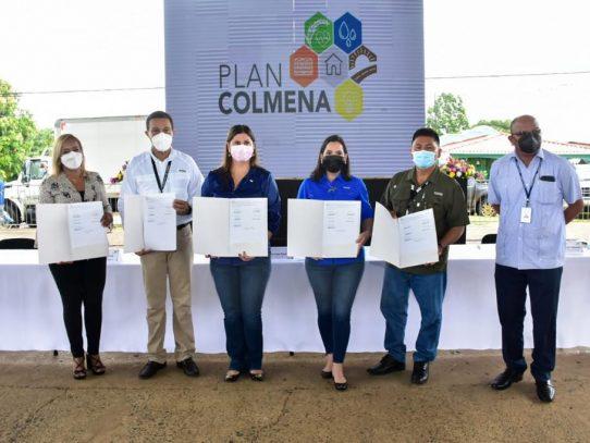 Instalan la Mesa Colmena en Panamá Este en busca de reducir índices de pobreza