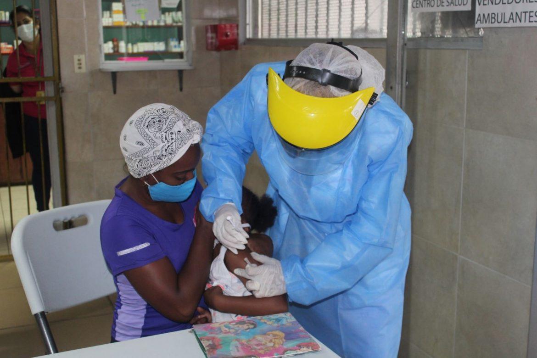 Más de 15 mil vacunas contra la influenza han sido aplicadas en San Miguelito