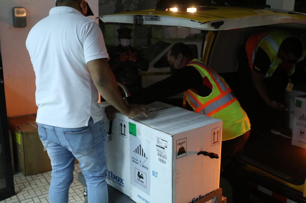 Panamá recibió nuevo lote de 43,290 dosis de vacunas Pfizer contra la Covid-19