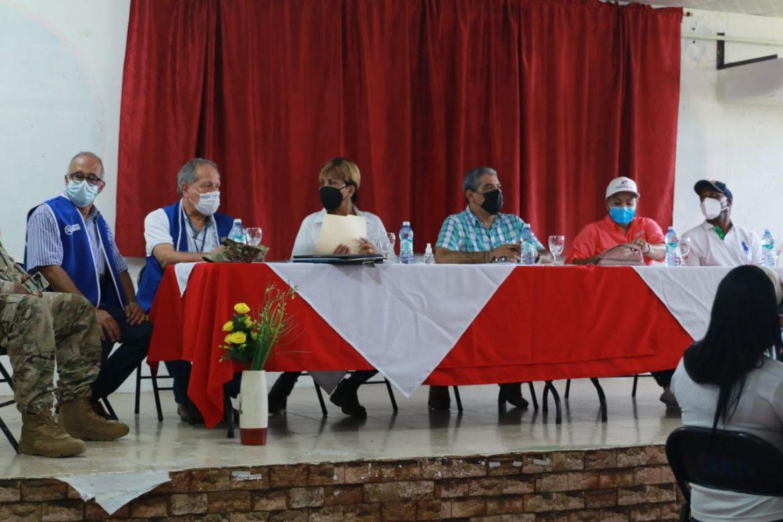 Ministro sucre visita Cocytc de Portobelo