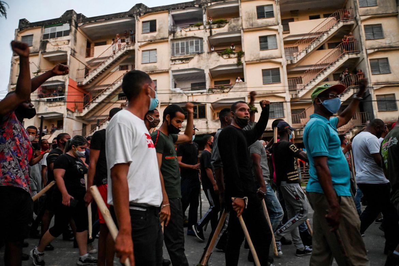 Raúl Castro se reunió con Díaz-Canel para analizar las protestas en Cuba