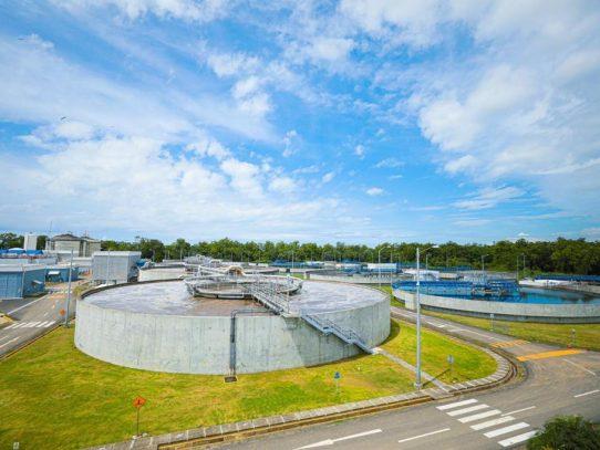 Módulo II de planta de tratamiento de aguas residuales tiene 92% de avance