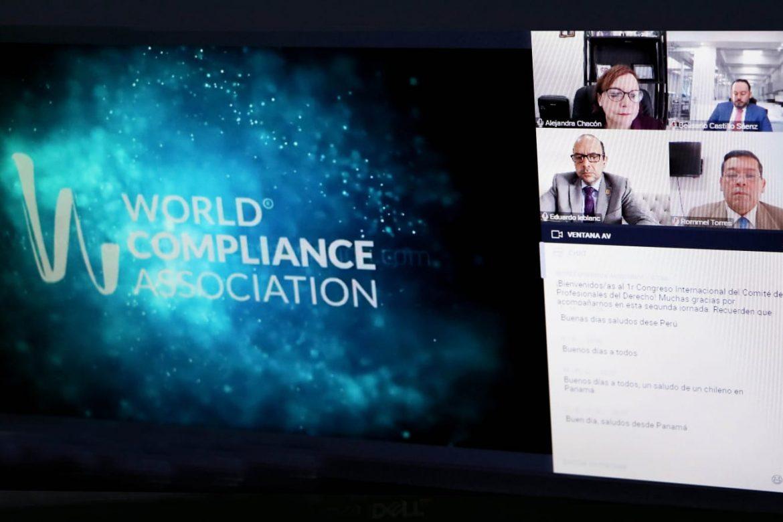 Defensor del Pueblo, orador en el World Compliance Association