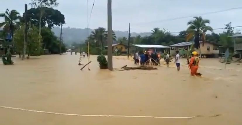 Declaran alerta amarilla por lluvias en Bocas del Toro