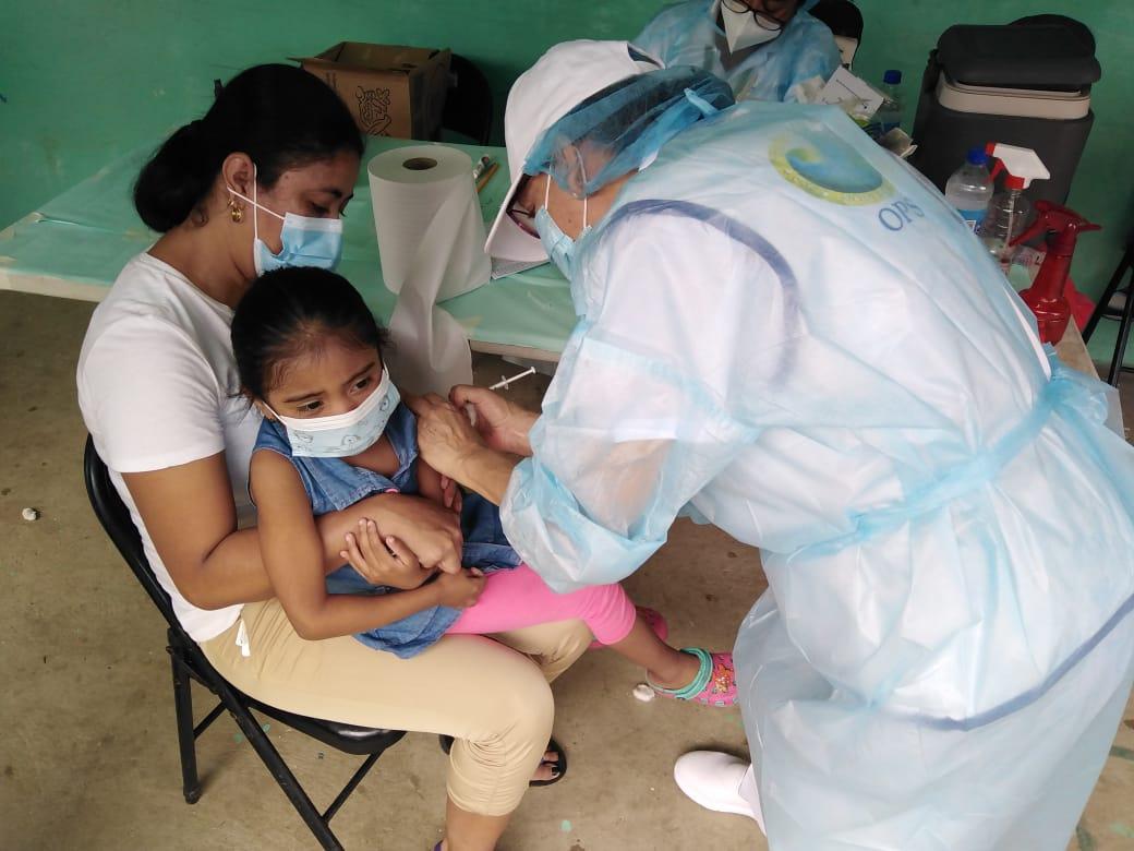 Más de medio millón de dosis aplicadas contra la influenza en Panamá
