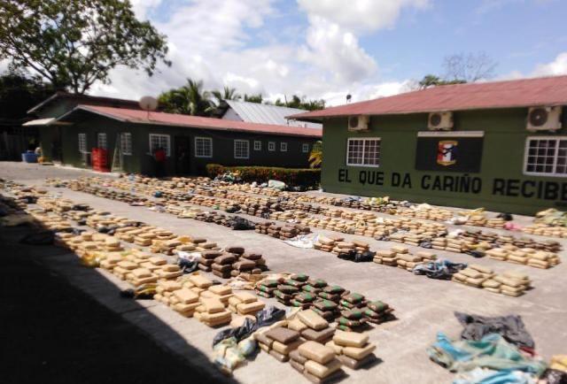 Más de 198 toneladas de drogas han sido decomisadas en dos años