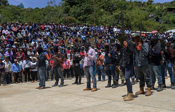 Indígenas respaldan a un nuevo grupo civil armado en el estado mexicano de Chiapas