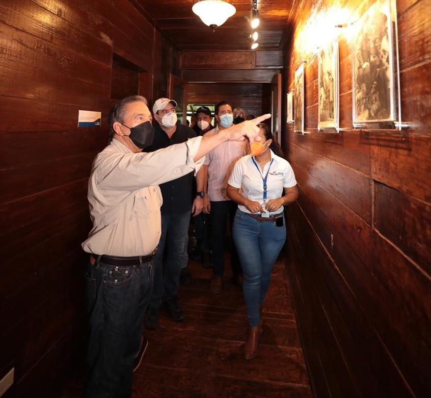 Presidente Cortizo realizó reapertura de Casa Museo en Coclesito