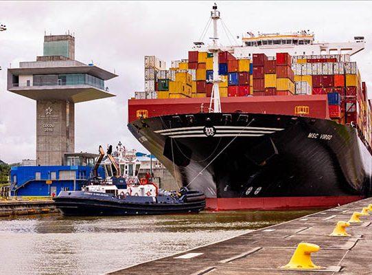 Canal de Panamá otorgó el premio Green Conection al portacontenedor MSC Virgo