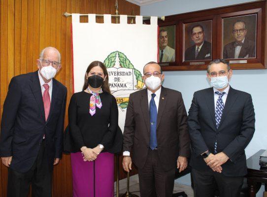 Reunión en la UP con la Universität Osnabrück de Alemania en Costa Rica