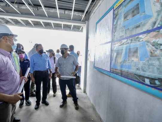 Presidente Cortizo supervisa obras en San Miguelito