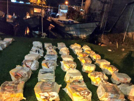 Detenidos en Isla Colón con drogas son condenados a 10 años de cárcel
