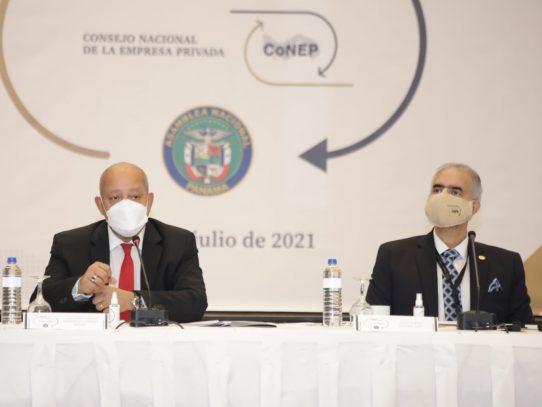 CONEP y la Asamblea trabajarán de la mano en pro de la reactivación económica