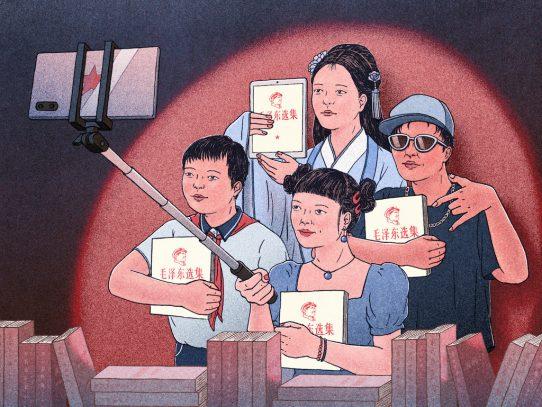 """""""¿Quiénes son nuestros enemigos?"""". Los jóvenes chinos decepcionados adoptan la filosofía de Mao"""