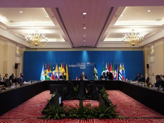 CAF aprobó USD 1.345 millones para atención de pandemia y reactivación de Latinoamérica