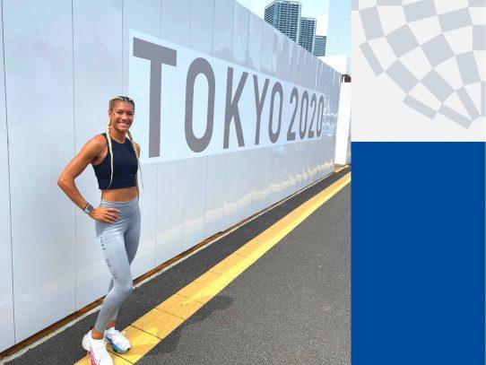 Gianna Woodruff abre el turno del atletismo de Panamá en juegos de Tokio 2020