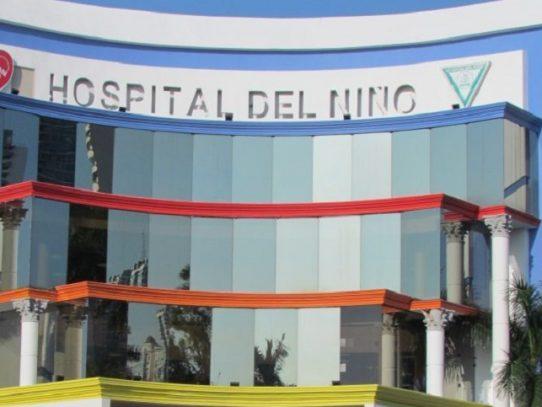 Más de 40 mil afecciones respiratorias atendidas en el Hospital del Niño