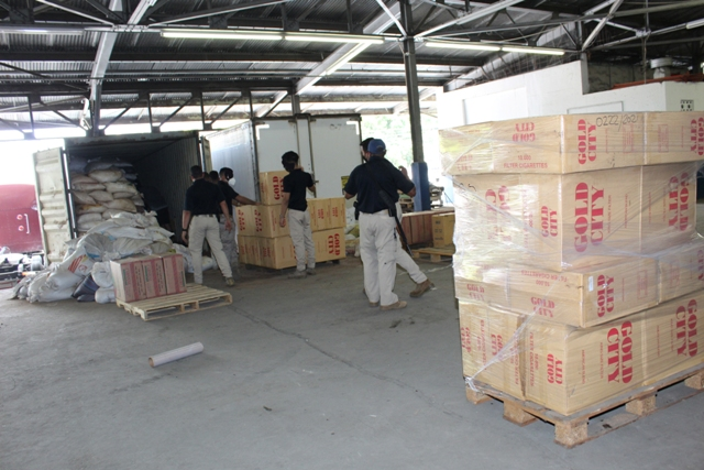 Aduanas detecta nueva modalidad en el contrabando de cigarrillos