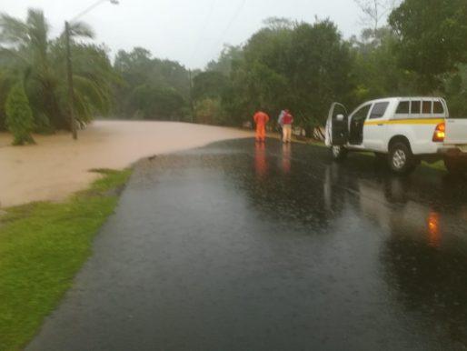Más 5 mil personas afectadas por lluvias en todo el país