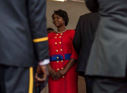 La viuda del presidente Jovenel Moise regresó a Haití