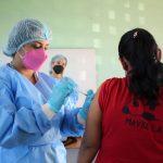Más de 26 mil dosis de vacunas se aplicaron en San Miguelito en un día