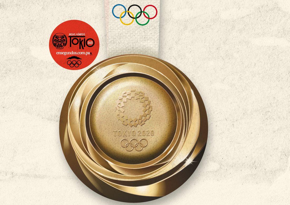 Las medallas de los Juegos Olímpicos