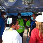 Unas 22 mil personas vacunadas en primer día en Panamá Oeste