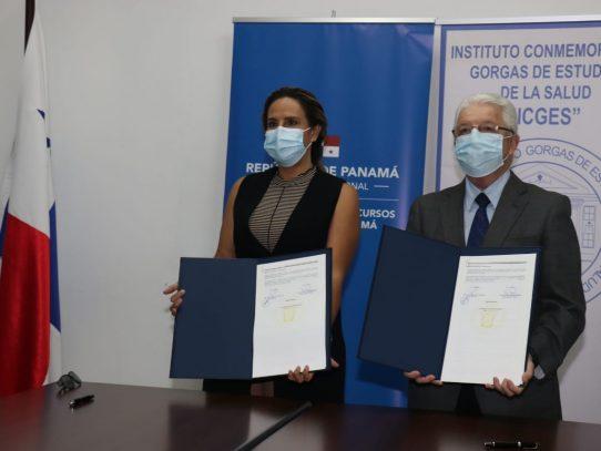 El Gorgas y ARAP suscriben convenio marco de cooperación científica