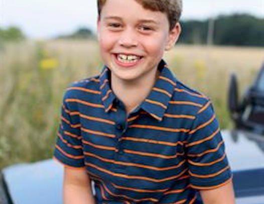 Los duques de Cambridge divulgan foto de su hijo Jorge por su 8 cumpleaños