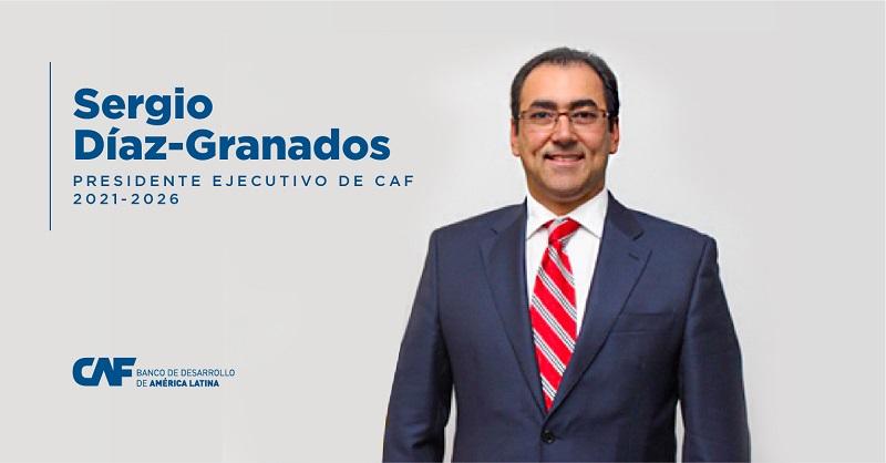 Nuevo presidente ejecutivo de CAF: Sergio Díaz-Granados