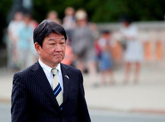 El ministro de Asuntos Exteriores de Japón visita Panamá