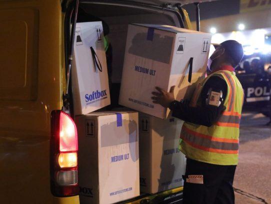 Panamá recibió primer envío de vacunas Pfizer a través del mecanismo Covax