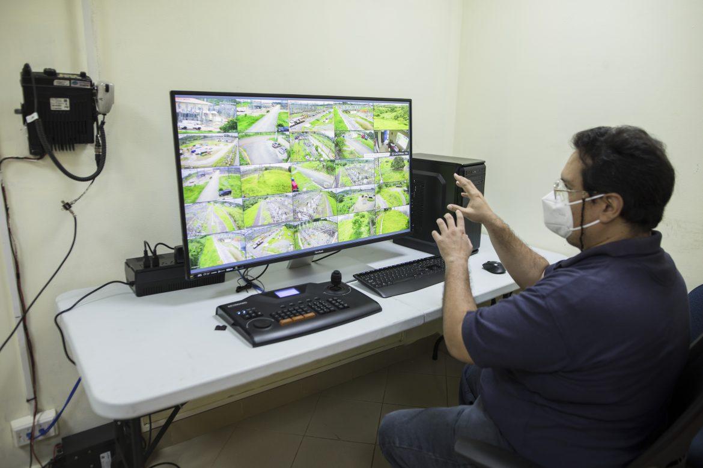 Instalan cámaras de vigilancia en subestación de ETESA en Pedregal