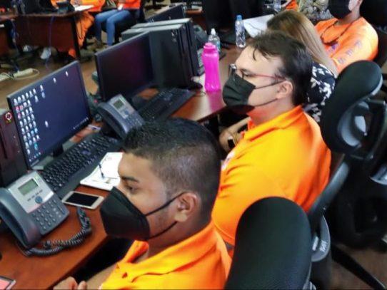 Sinaproc, en constante capacitación del personal para manejo de emergencias
