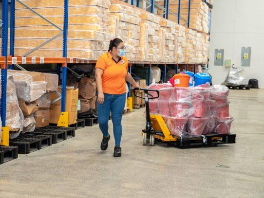 Hub humanitario movilizó 2,266 toneladas de ayuda en 24 meses
