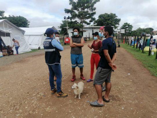 Defensoría y Ministerio Público atienden denuncias de migrantes