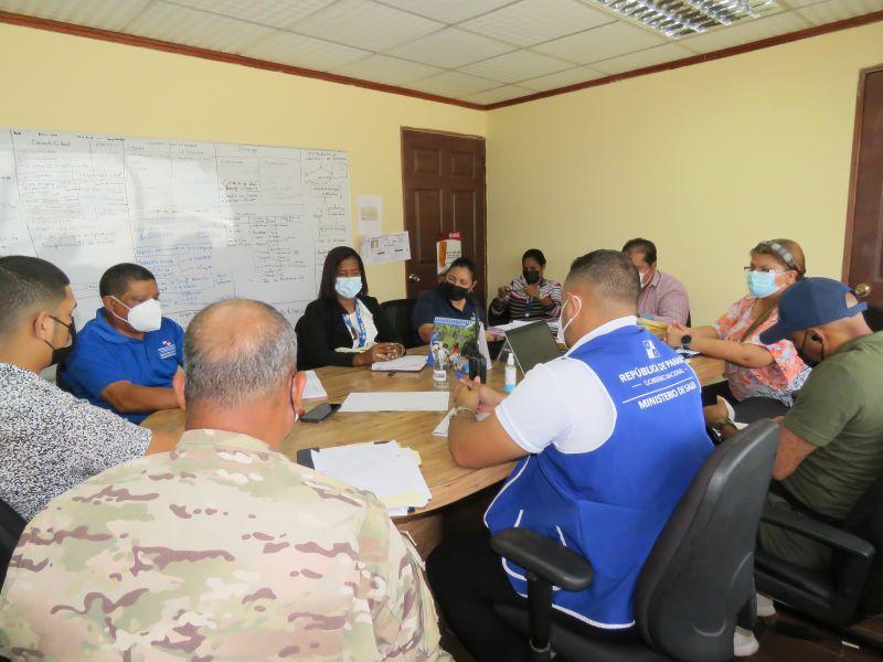 En La Chorrera, buscan cortar ola de contagios en Puerto Caimito