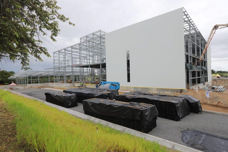 Moderna planta de café se construye en Coclé