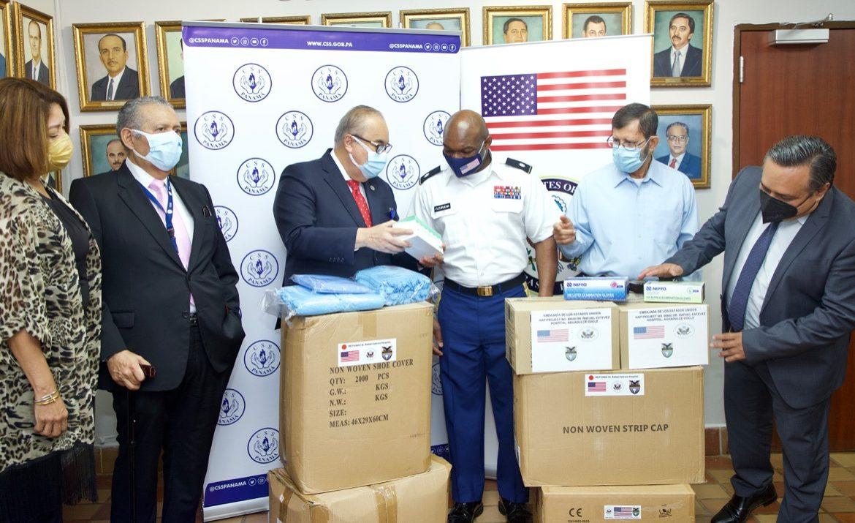 Equipos de protección recibió CSS de embajada de Estados Unidos de América