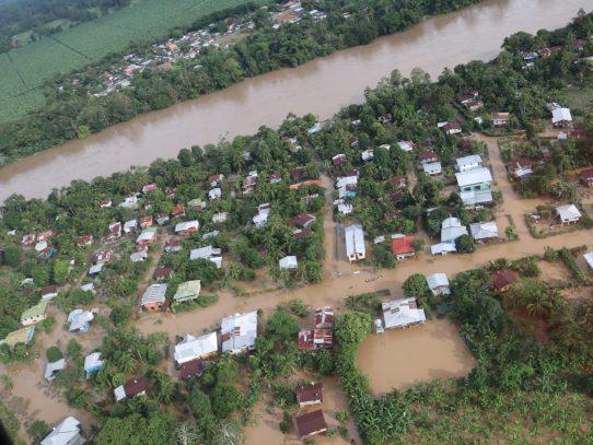 Más de 27 mil personas afectadas por las lluvias en Bocas del Toro