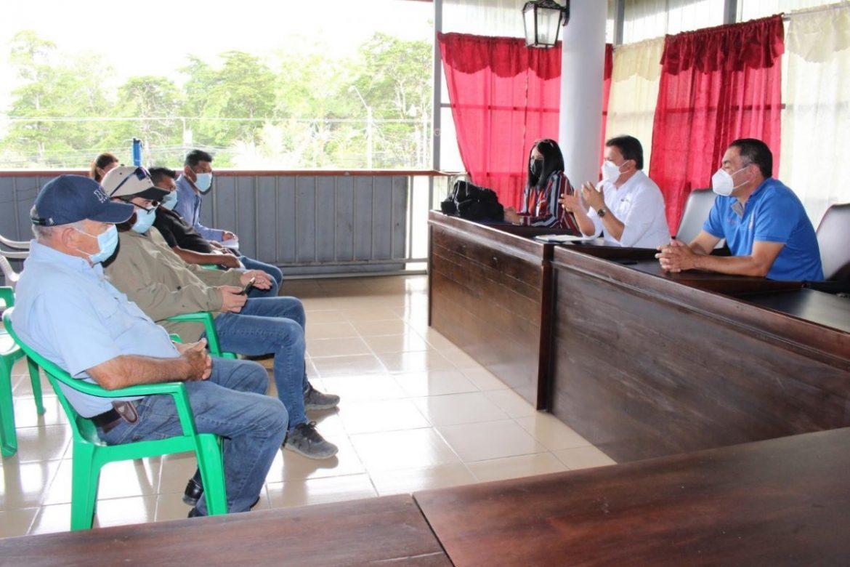 Se instala mesa de diálogo entre trabajadores y productores agrícolas de Tierras Altas