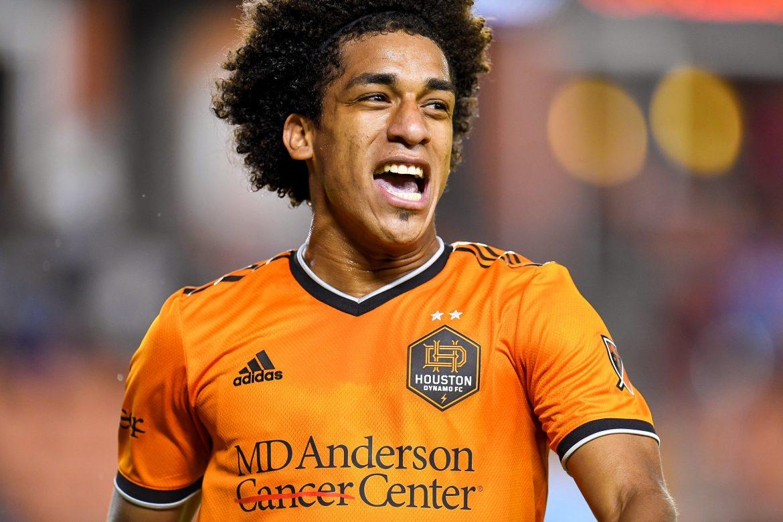 Panameño 'Coco' Carrasquilla anotó el cuarto gol más rápido en la historia del Houston Dynamo FC